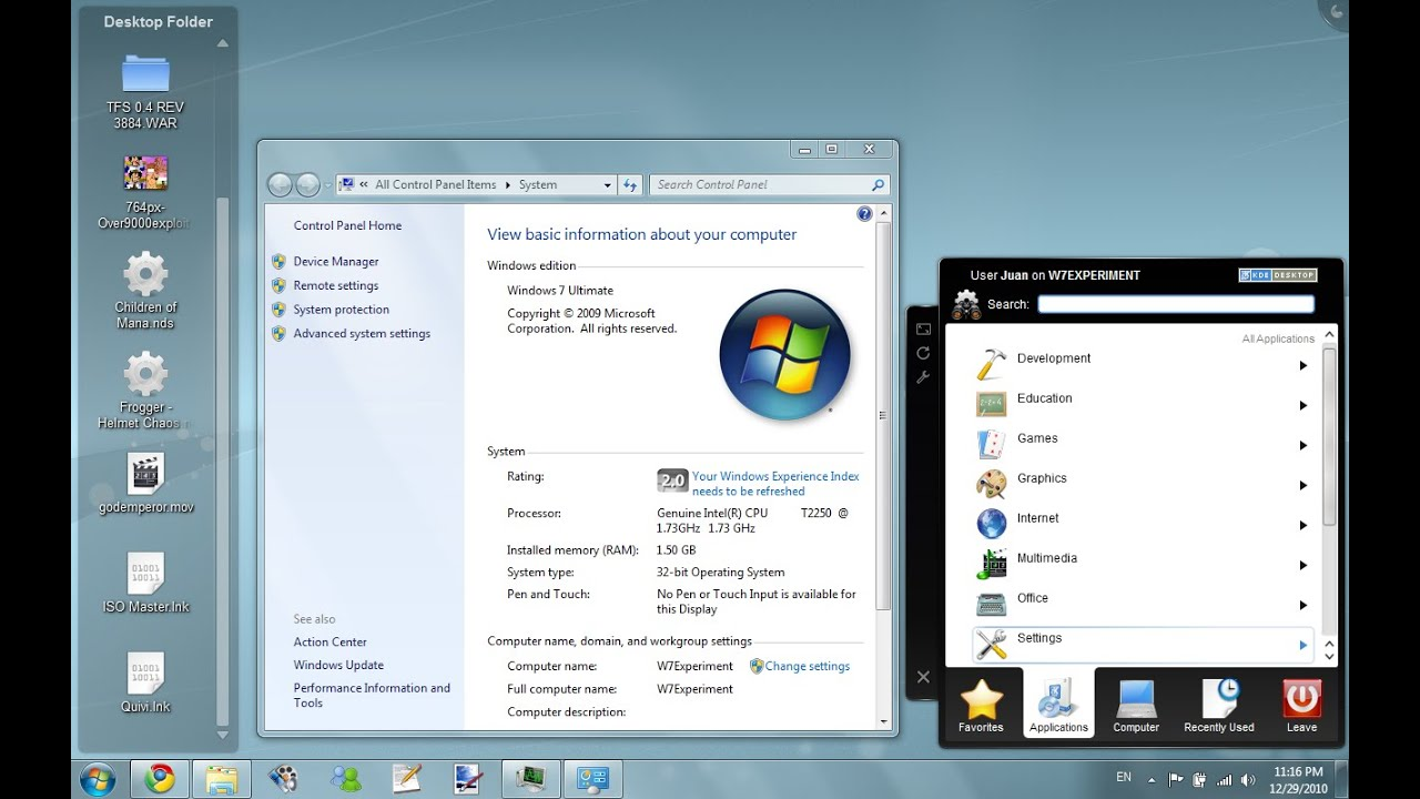 Kde 4 on microsoft windows review youtube for Window design 4 4
