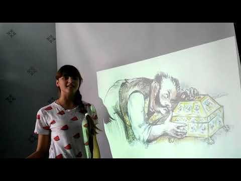 Изображение предпросмотра прочтения – КристинаДемчук читает произведение «Ларчик» И.А.Крылова