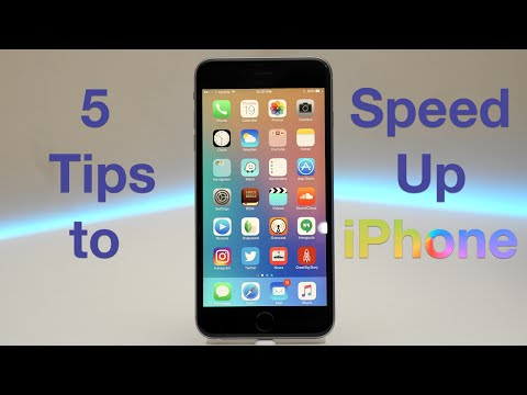 How to make my iphone 6 internet faster