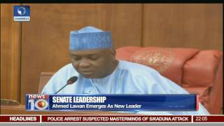 Senate Leadership: Ahmed Lawan Emerges As New Senate Leader