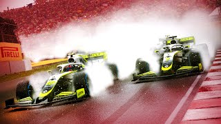 THEY SHOULD'VE RED FLAGGED THIS RACE! MONSOON RAIN! - F1 2020 MY TEAM CAREER Part 89