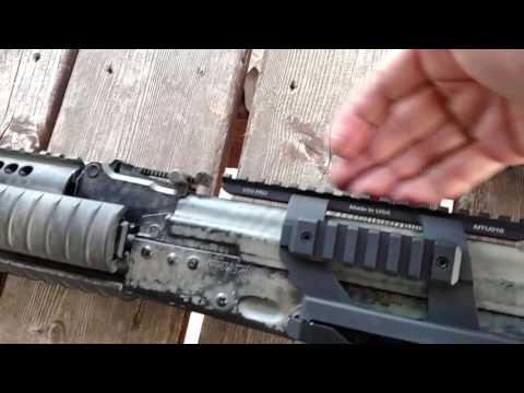 AK 47 AK 74 Optic mount BEST Budget mount!!