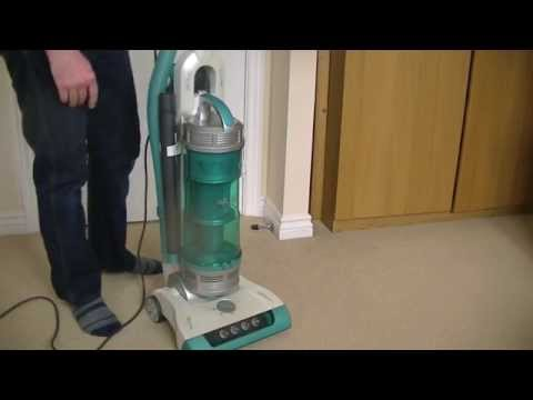 Hoover Eco G UTE1100 Turbo Power Upright Vacuum Cleaner Unboxing & Assembly