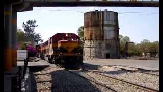 KCSM Empalme Escobedo SD70ACe, ES44AC, SD60