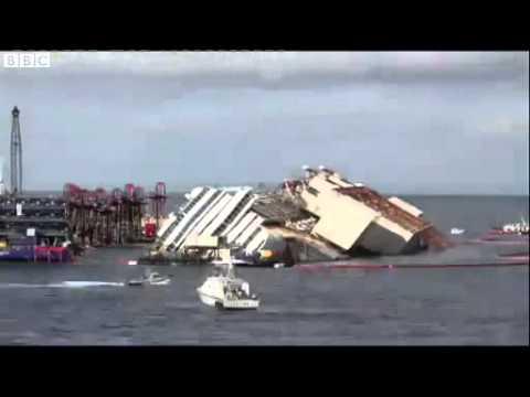 WATCH: Time Lapse Shows Raising of Costa Concordia | fox8 com