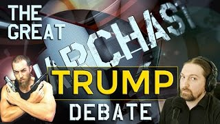 the great libertarian trump debate adam kokesh vs richard heathen