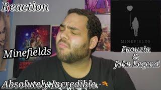 Faouzia - Minefields Featuring John Legend  REACTION  Absolute Beauty
