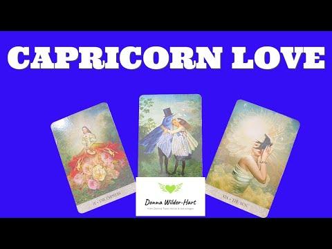 CAPRICORN~LOVER APOLOGIZES!~LOVE TAROT