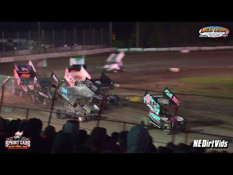 Highlights: Sprint Cars of New England at Bear Ridge Speedway 6 24 2017