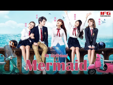New Romance Movie | My Girlfriend is a Mermaid | Campus Love Story film, Full Movie 1080P