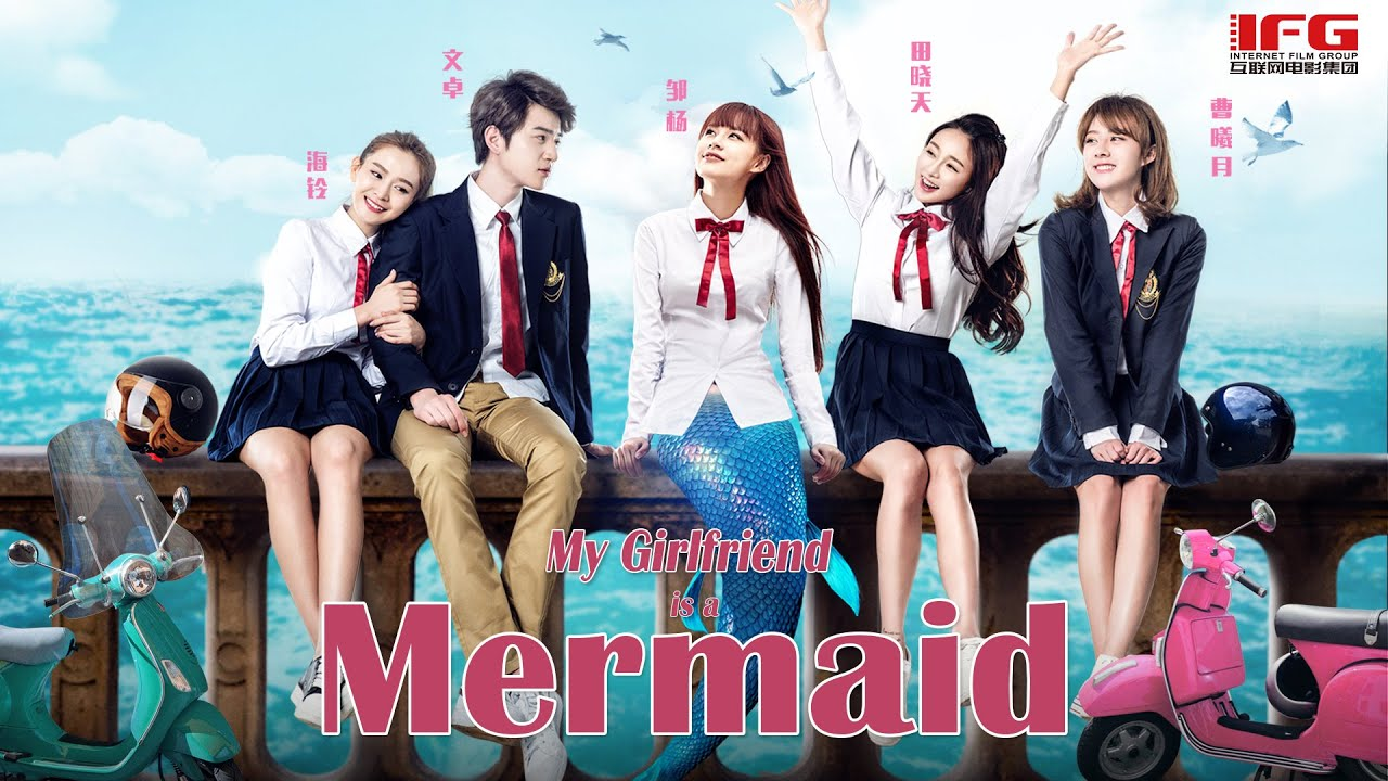 Download New Romance Movie | My Girlfriend is a Mermaid | Campus Love Story film English, Full Movie HD