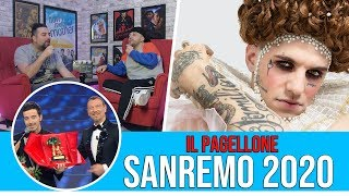 FESTIVAL DI SANREMO 2020 : IL PAGELLONE FINALE