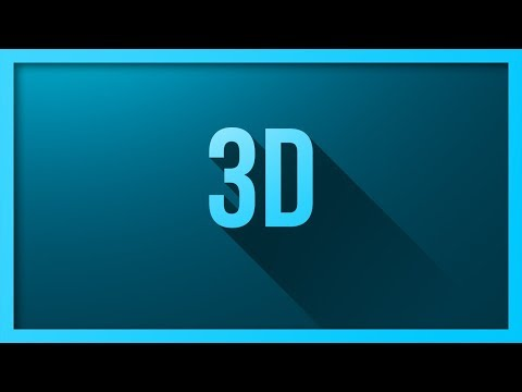 "Create Long Shadows Using ""Photoshop 3D"""