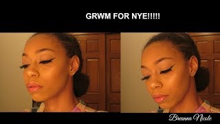 GRWM Makeup for NYE | Breanna Nicole