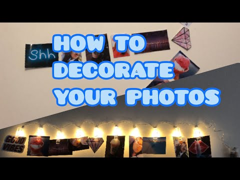 Photo wall decoration ideas at home!!