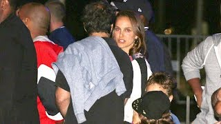 Natalie Portman, Flea, And More Watch The Lakers Take On The Spurs