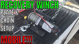 Vehicle Recovery, Winch Anything form Anywhere!! [Custom Trailer Winch Setup]