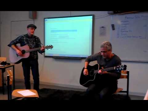 "Dave and Dan busting out the early Elvis on ""Cultures Day"" Jan 30th, 2012"