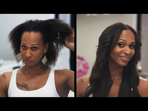 This Transgender Woman Feels More Comfortable In Her Body With Her Hair Goddess Makeover