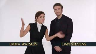 flushyoutube.com-Emma Watson and Dan Stevens wish you a Happy New Year + Spot