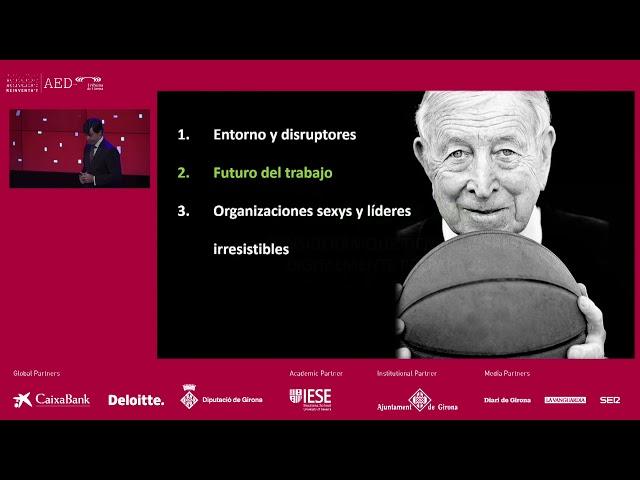 Reinventa't 2019 Girona | Tendències Treball: Ignacio Castillo (Deloitte)