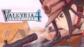 Valkyria Chronicles 4 - Squad E Reporting for Duty Gameplay Trailer