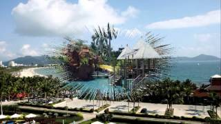 видео Курорт Санья в Китае