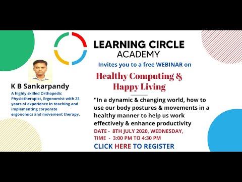 Healthy Computing & Happy Living