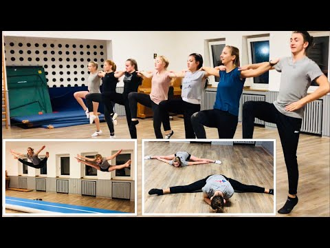 Turnier Garde beim Tanz und Tumbling / AirTrack Training 1. TSV Bottrop Tanz was du kannst
