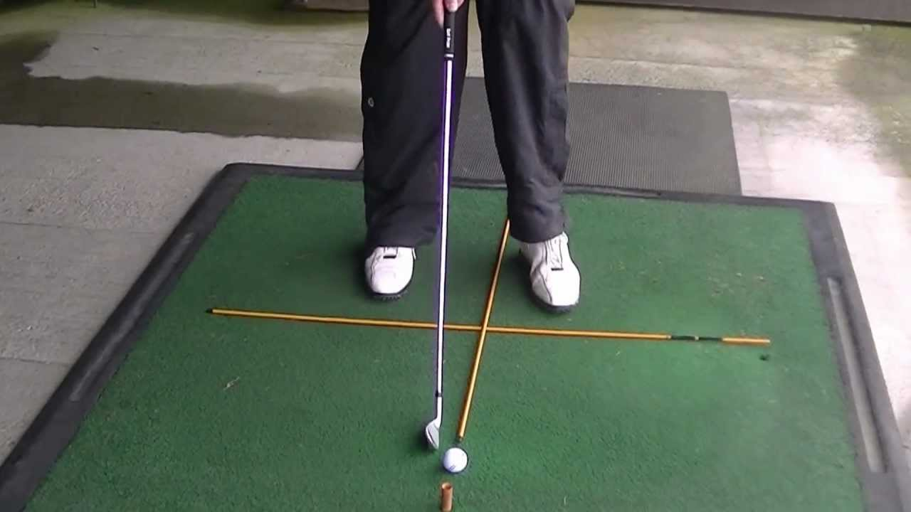 Golf Training Aids The Benefit Of Golf Alignment Poles