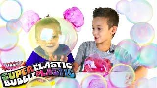 Челлендж КТО НАДУЕТ БОЛЬШЕ ШАР ? Вызов принят ! ПЛАСТИКОВЫЙ ПУЗЫРЬ Challenge Magic Goo Balloon