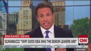 As Ryan Lizza defends his Tweet Scaramucci calls in to fix  This is amazing television Cuomo