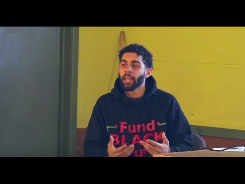 BYP100 / We Charge Genocide activist Jason Ware shares his experiences