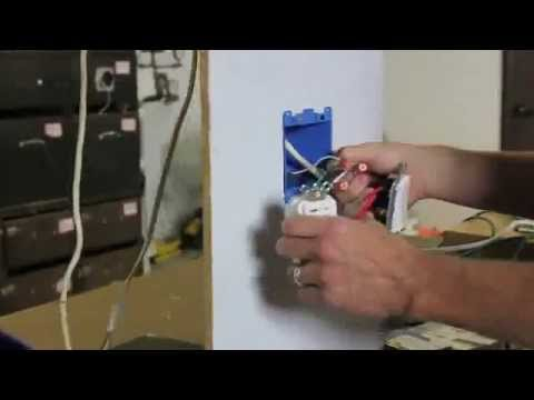 Quiet Cool Whole House Fan - How to Wire a 2 Speed - YouTube