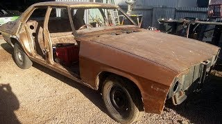 1974 Holden HQ Kingswood Restoration Project