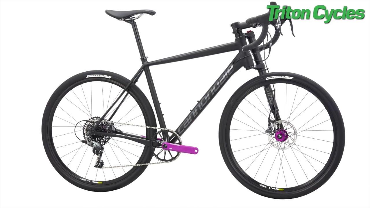 ef0002d4964 Cannondale Slate Force CX1 Gravel Road Bike - YouTube