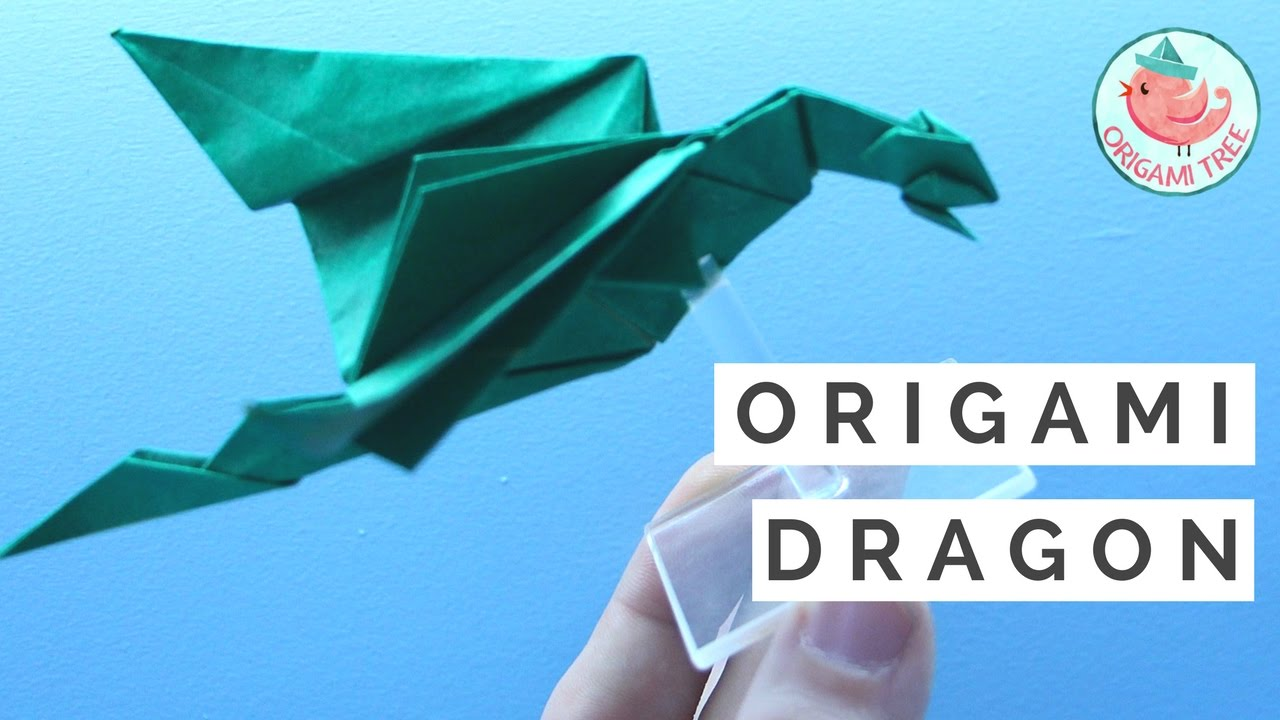 how to make a origami dragon video