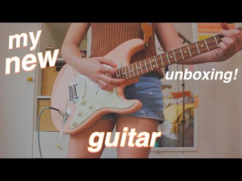 I Got My Dream Guitar... | Fender Player Stratocaster Shell Pink Unboxing