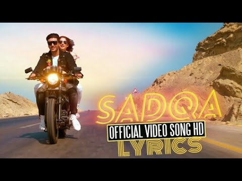 Sadqa - Full Song | Chupan Chupai | 29 December 2017| Ahsan Khan | Neelum Muneer | lyrical video