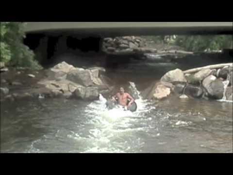 Tubing the boulder creek