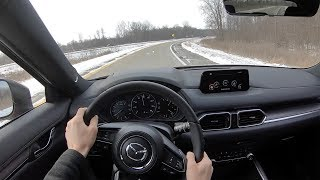 2019 Mazda CX-5 Signature Turbo - POV Review