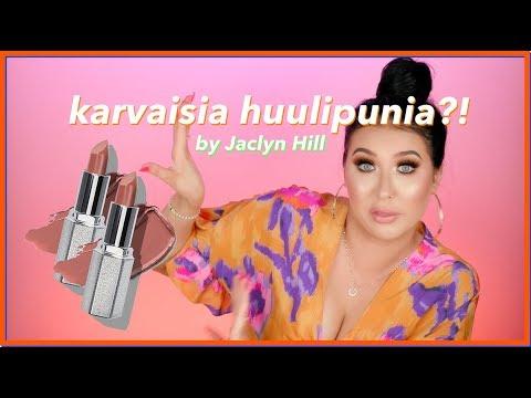 Jaclyn Hill ja homeiset huulipunat thumbnail