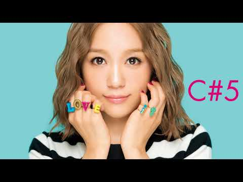 Kana Nishino - LOVE It (2017) - Vocal Range: C3-A5
