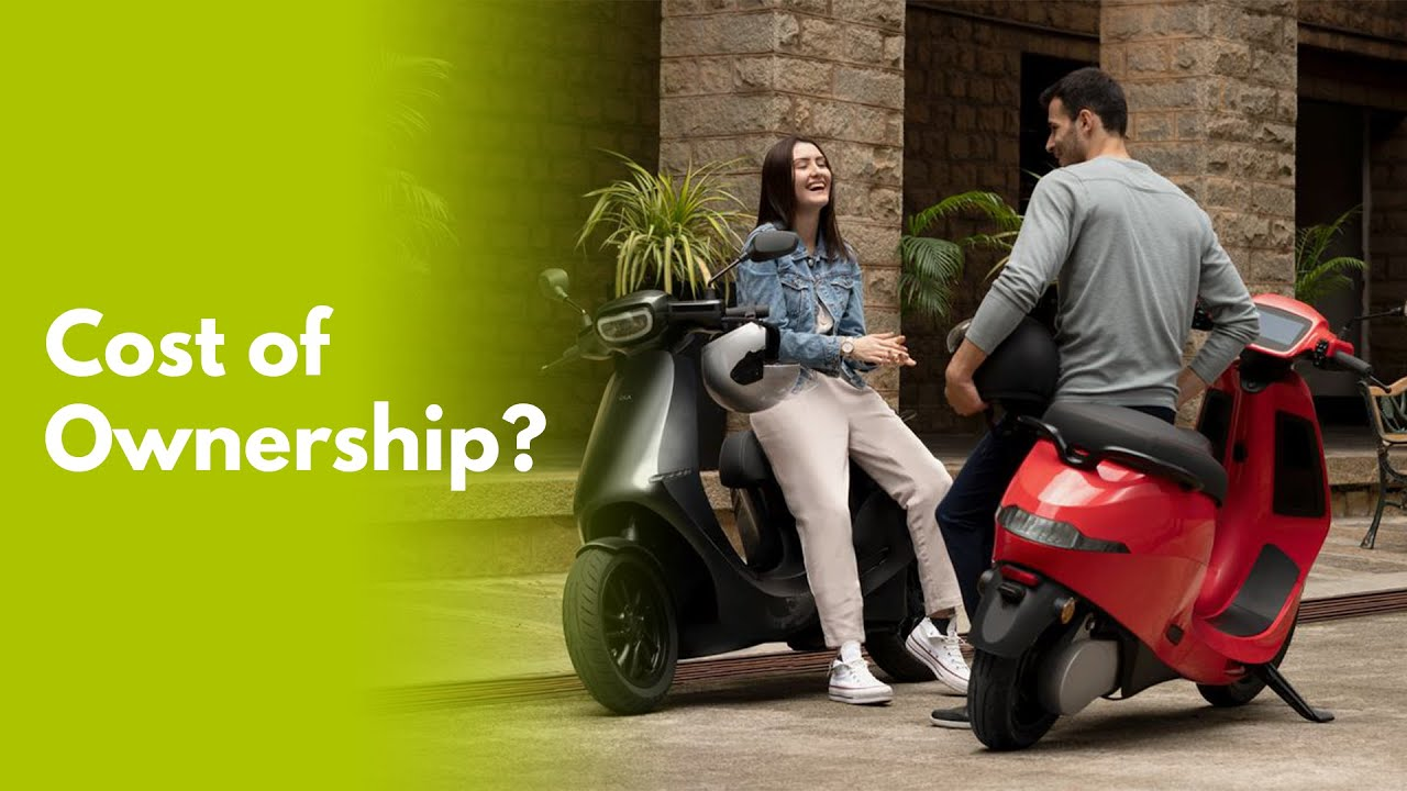 Download Ola Electric Scooter Cost of Ownership in detail💲🛵⚡