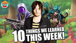 10 Things We Learned This Week (August 1, 2021) - Defunct Games