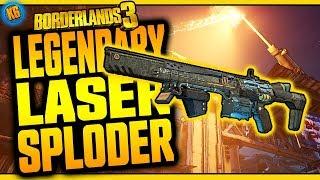 Borderlands 3 | LASER SPLODER | Legendary Weapon Review