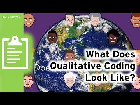 What Does Coding Looks Like?: Qualitative Research Methods