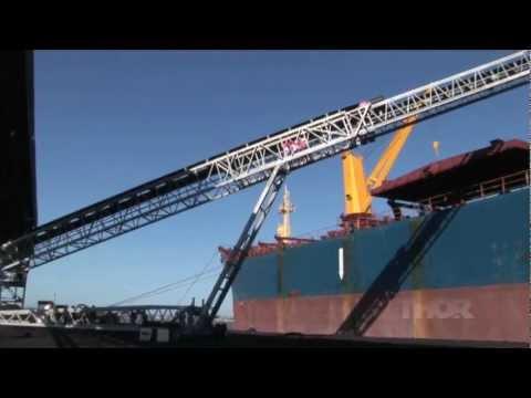 Ship Loading Coal by Thor Global