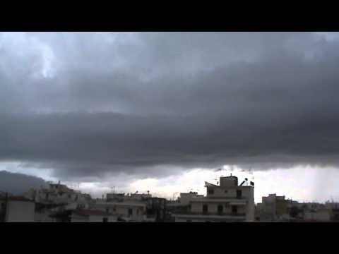 Καλαμάτα wall cloud 20-11-12