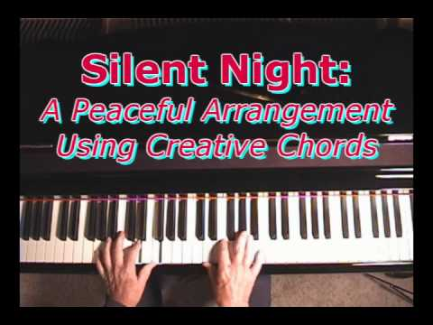 Silent Night: Some Arranging Ideas Using Chord Substitutions